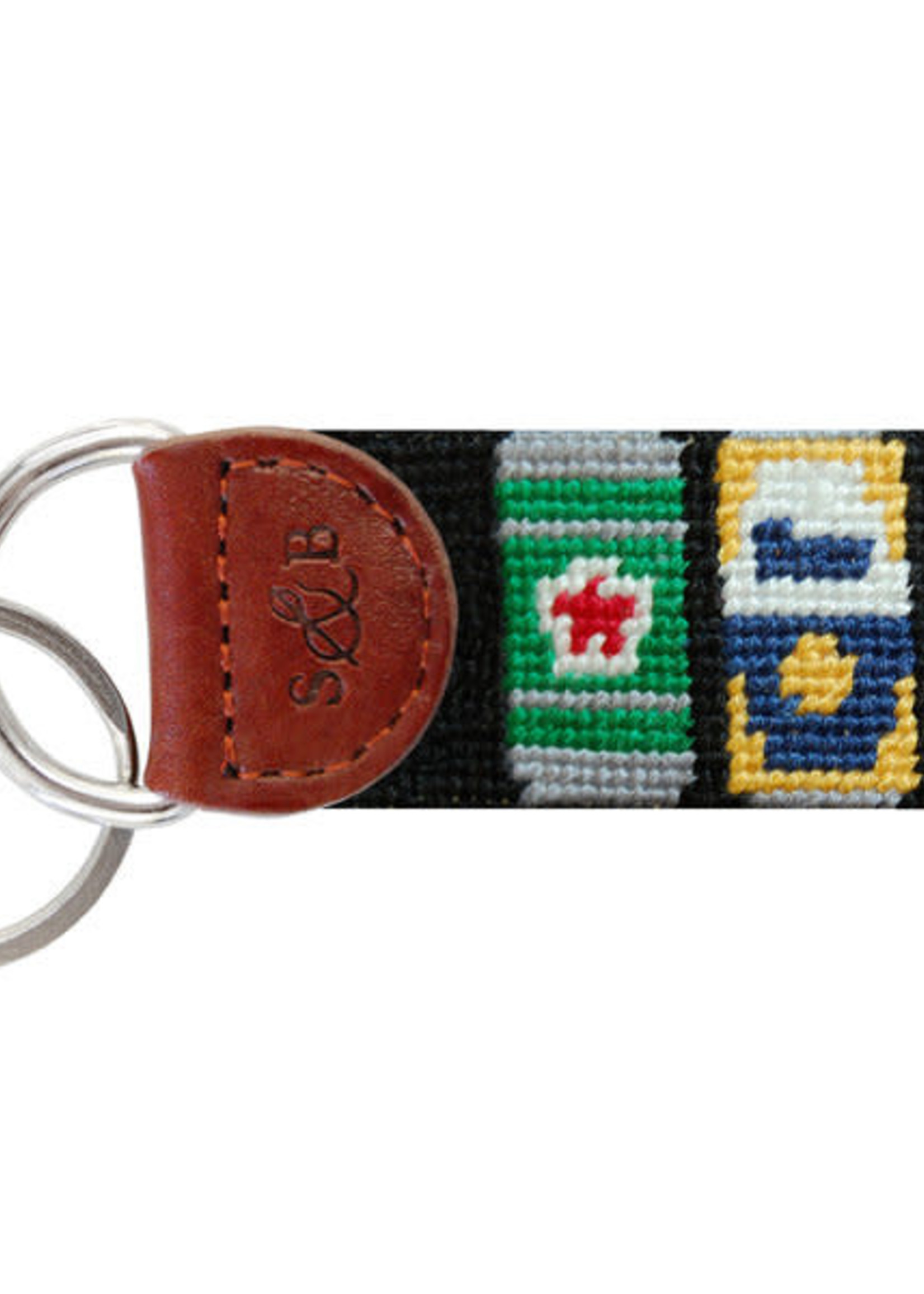 Smathers & Branson Beer Cans Key Fob