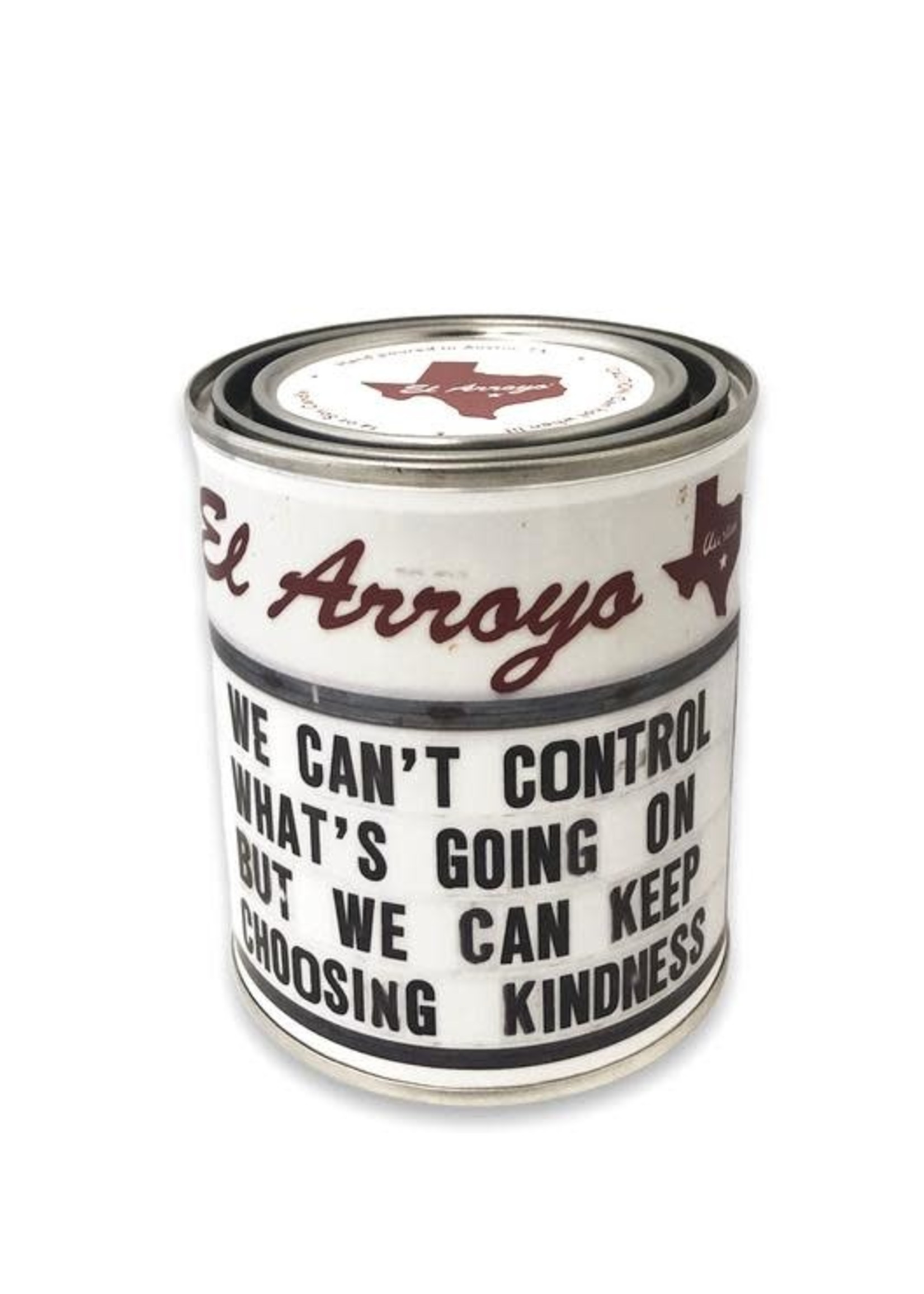 El Arroyo Choosing Kindness Paint Can Candle