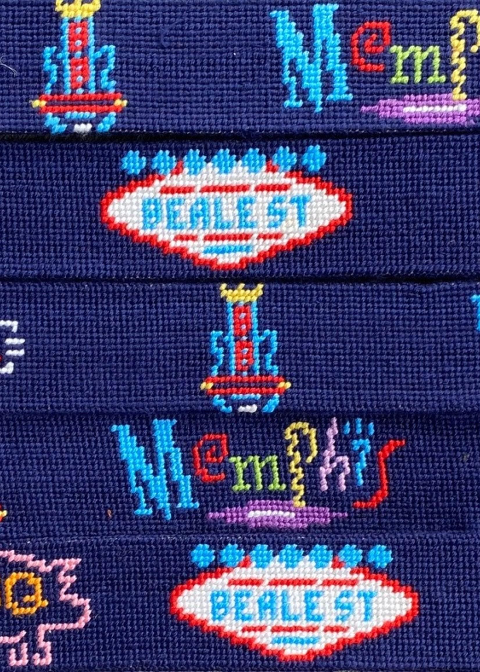 Smathers & Branson Neon Memphis Signs Belt