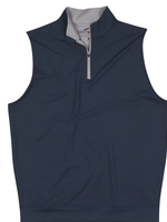 GenTeal Apparel Performance Zip Vest Navy