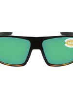 Costa del Mar Bloke Black/Shiny Tortoise Green Mir 580P