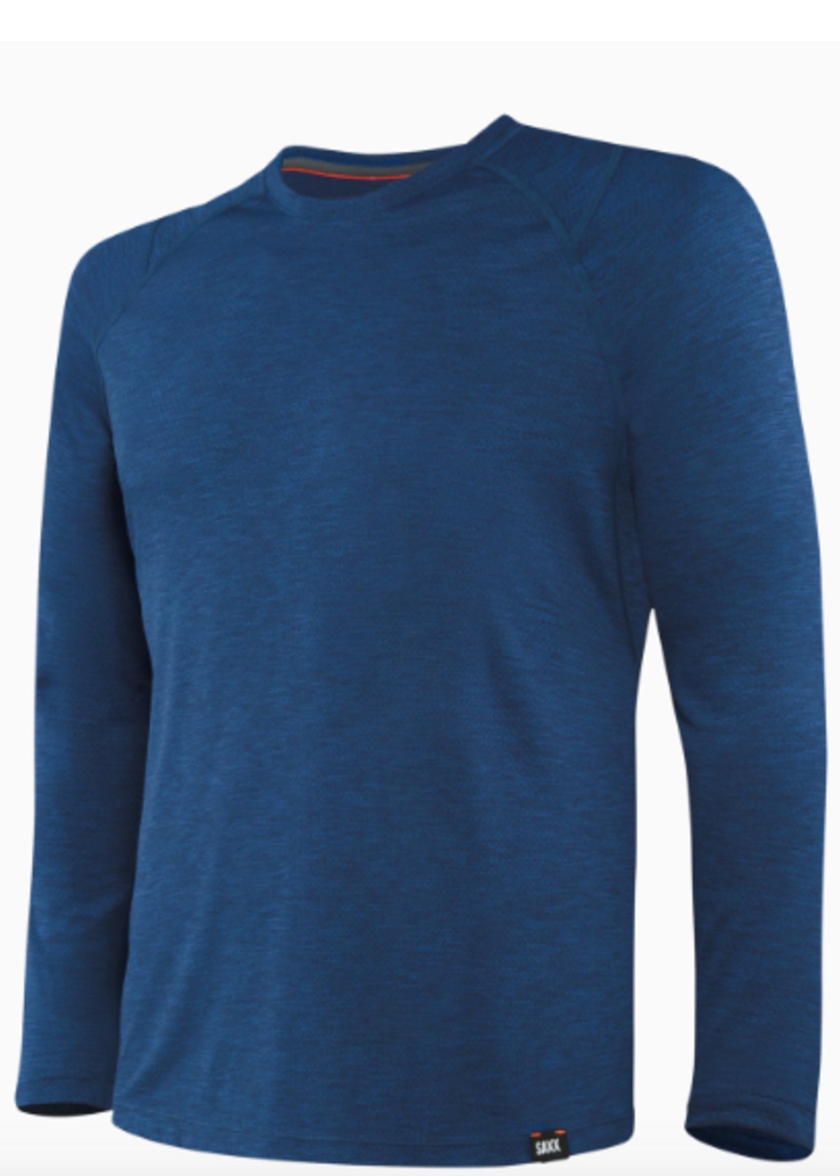 Saxx Aerator LS Tee City Blue Heather