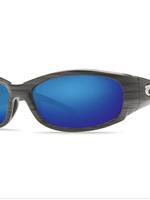 Costa del Mar Hammerhead Silver Teak Blue Mirror 580G