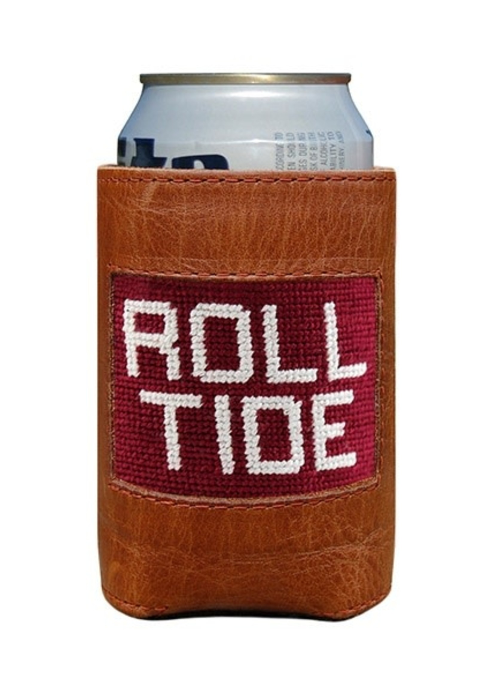 Smathers & Branson Roll Tide Needlepoint Coozie