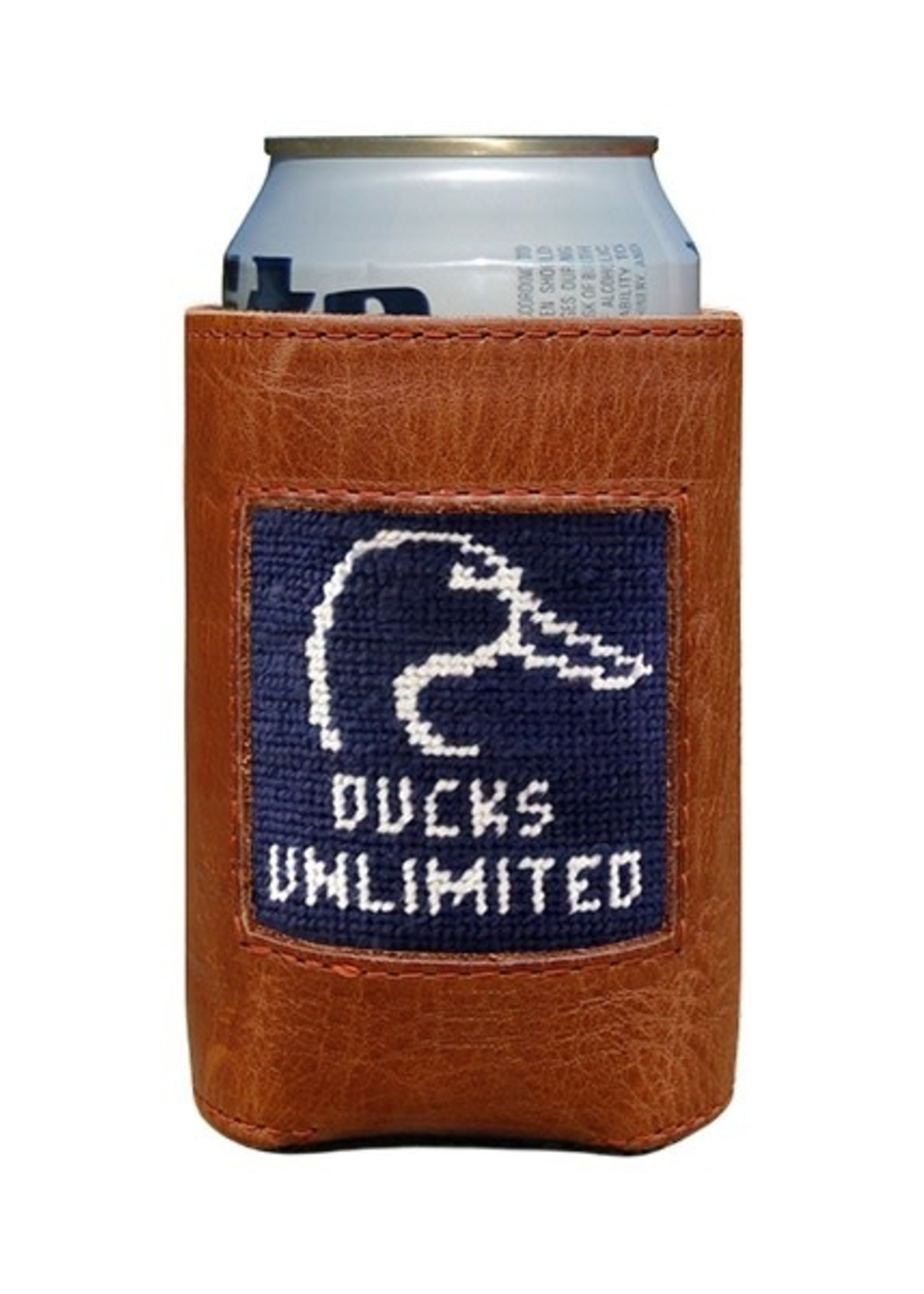 Smathers & Branson Ducks Unlimited Needlepoint Coozie