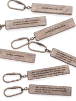 Sugarboo & Co Wood Quote Keychain