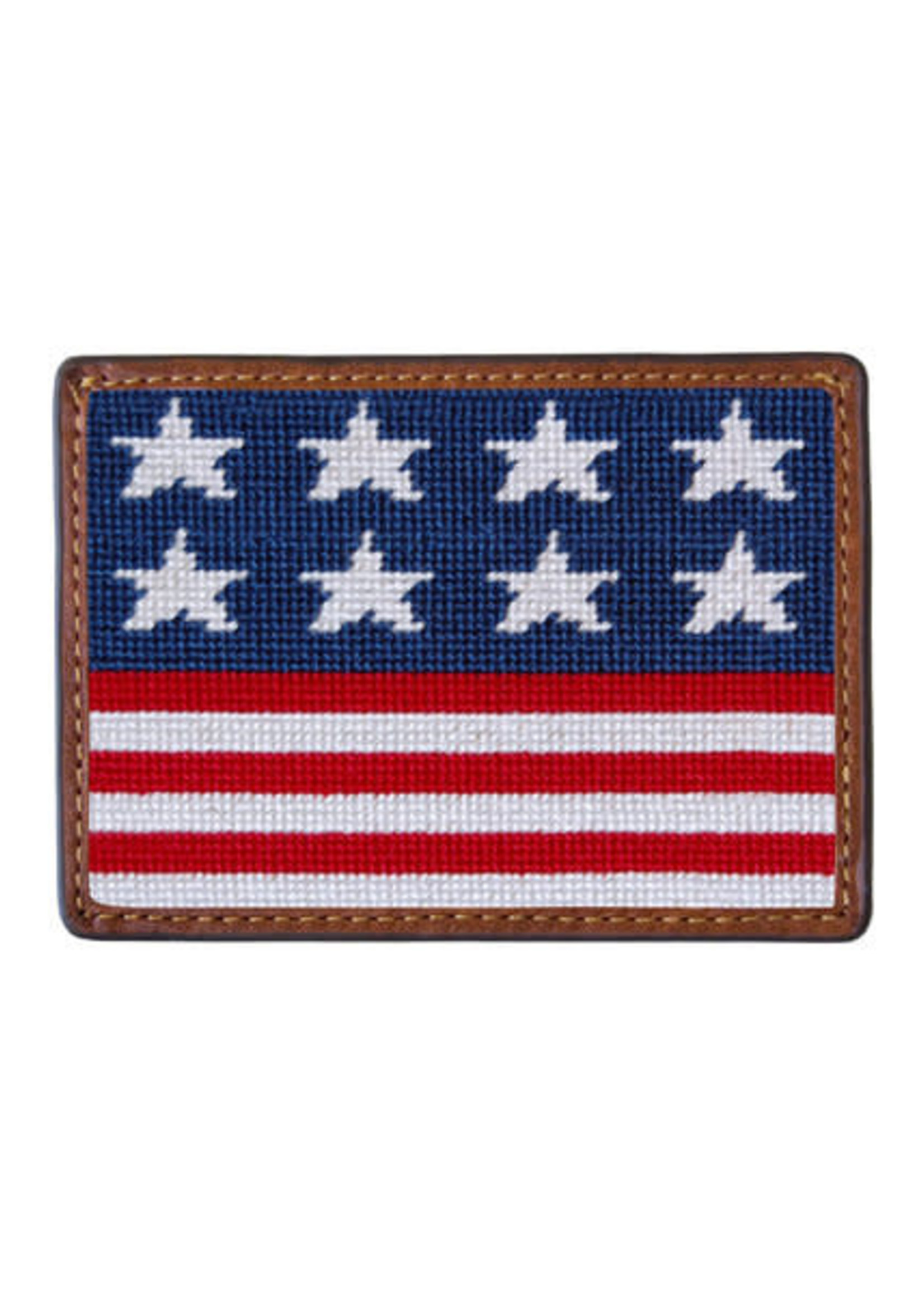 Smathers & Branson Credit Card Wallet Old Glory