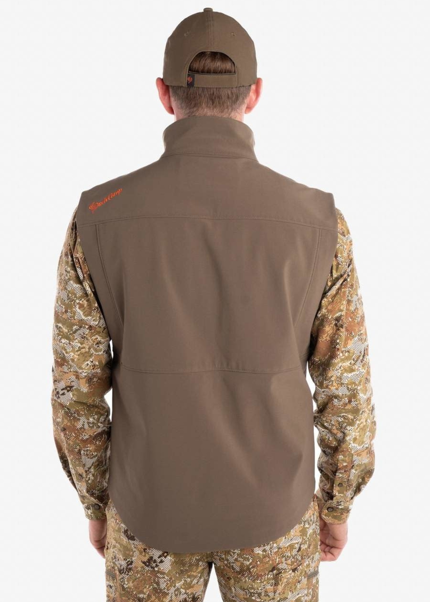 Duck Camp Vantage 3L Softshell Vest Fen Marsh