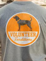 Volunteer Traditions Bluetick Patch Grey