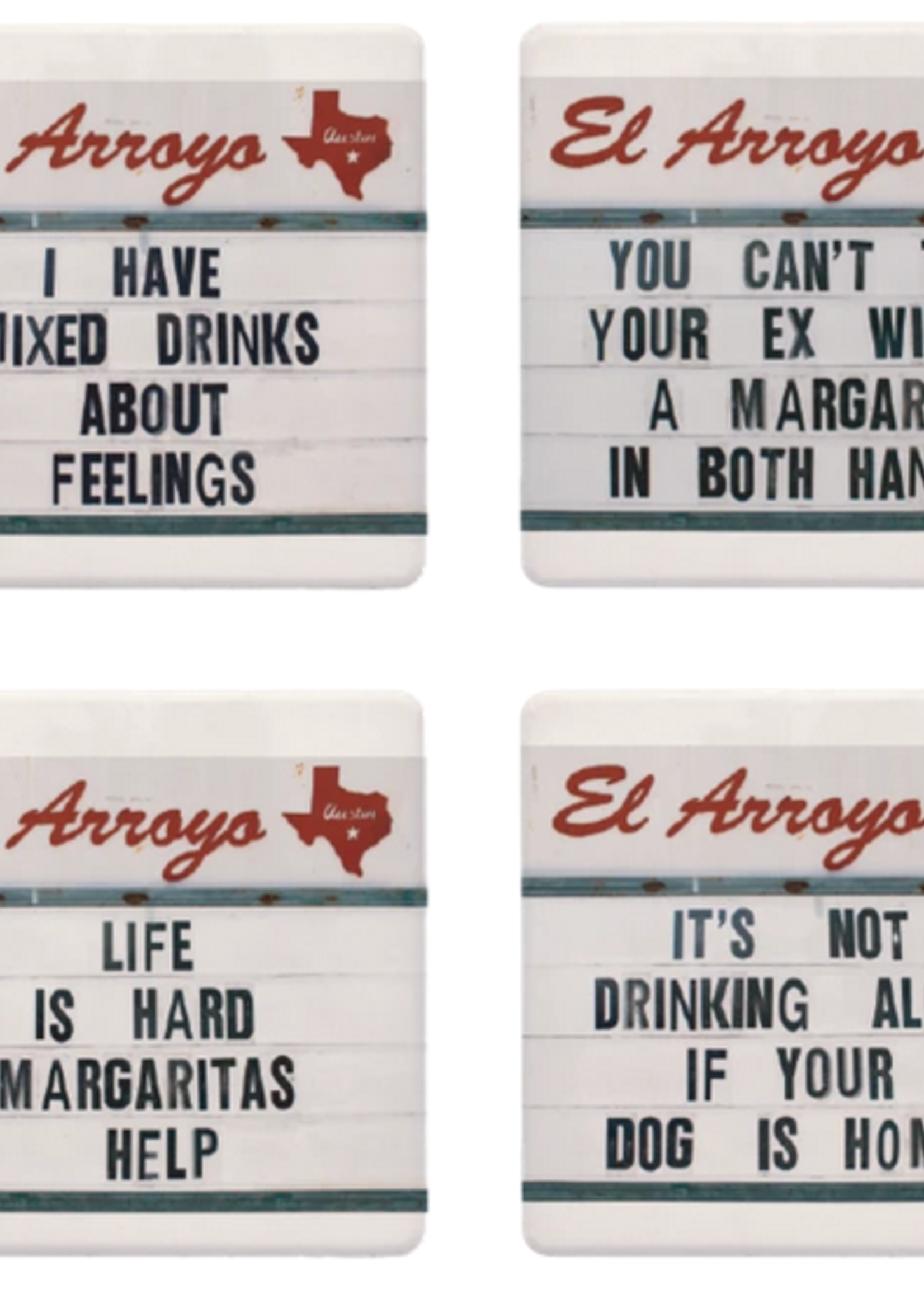 El Arroyo Coaster Set