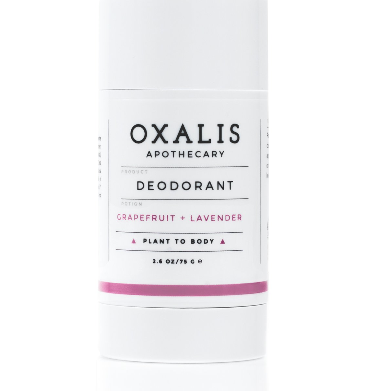 Oxalis Apothecary Grapefruit + Lavender Deodorant