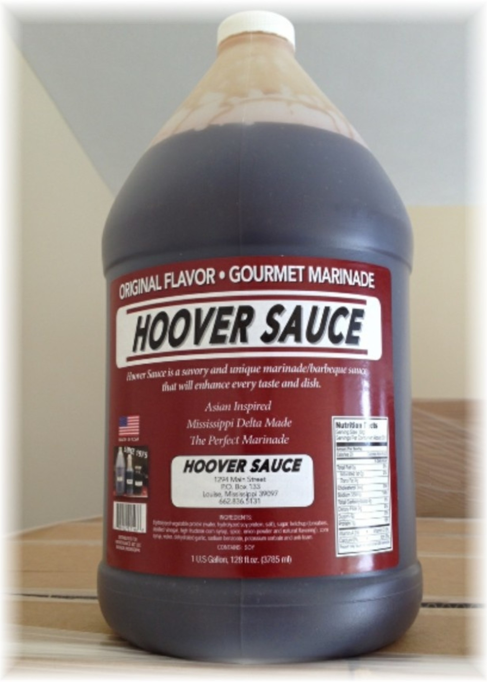 Hoover Sauce Hoover Sauce Gallon