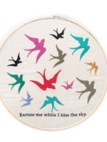 Sugarboo & Co Excuse Me Embroidery Hoop