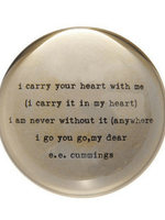 Sugarboo & Co I Carry Your Heart Paperweight