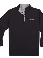 GenTeal Apparel Ole Miss Performance Pullover - Black