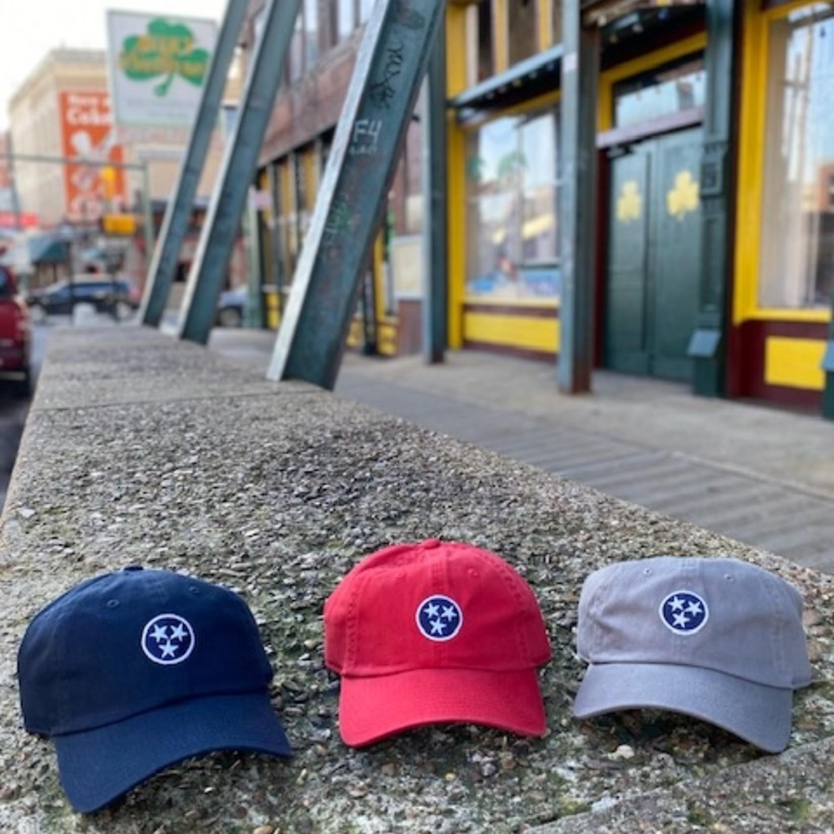 Volunteer Traditions Tristar Hat Grey