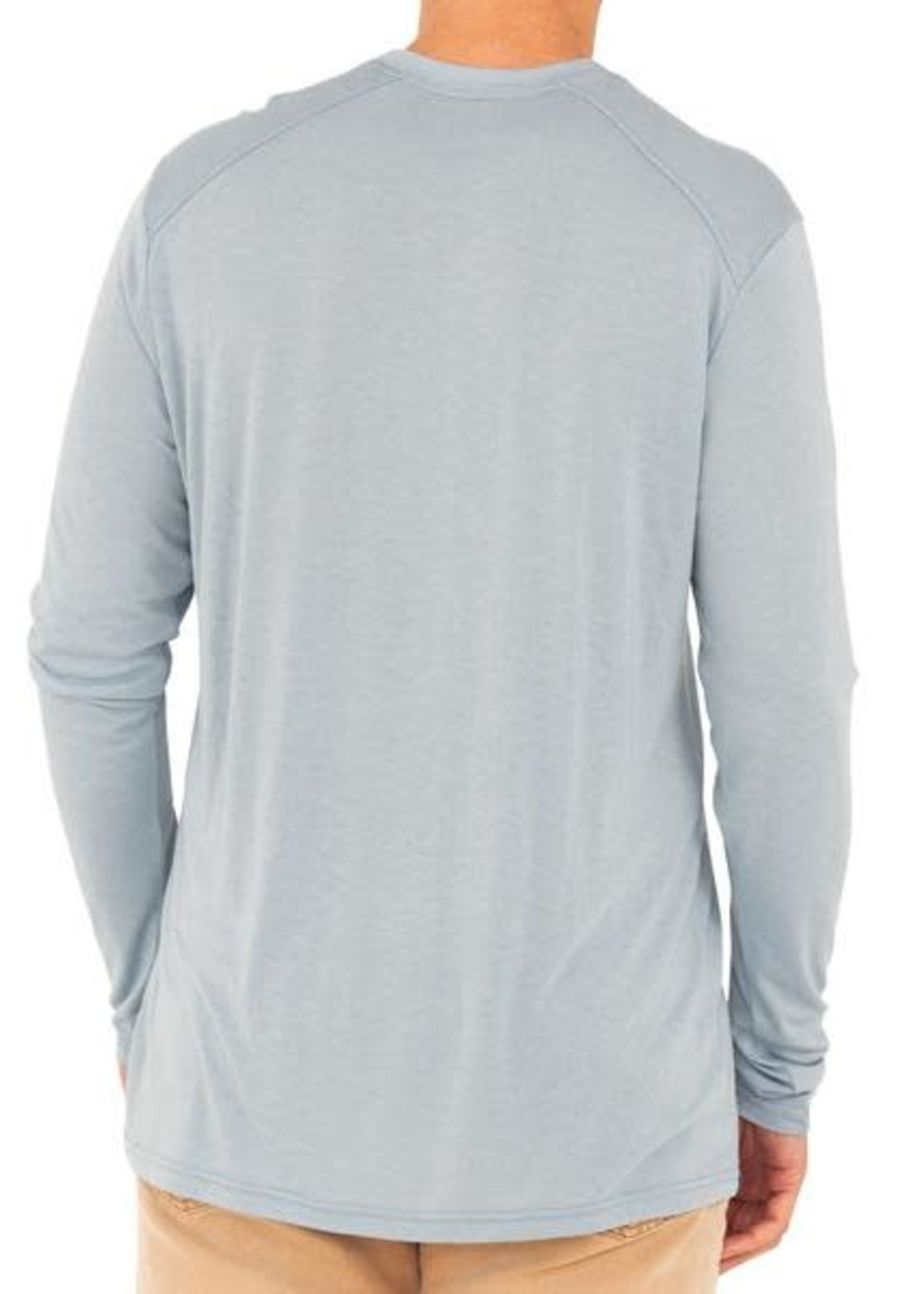 Free Fly Bamboo Lightweight L/S Cays Blue