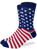 Good Luck Sock American Flag Socks