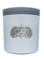 Toadfish Anchor Non-tipping Holder White