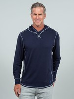 Toes on the Nose Sea Silk Schooner L/S Knit Navy