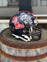 Midsouth Sports Acquisitions Ole Miss Team Signed Helmet