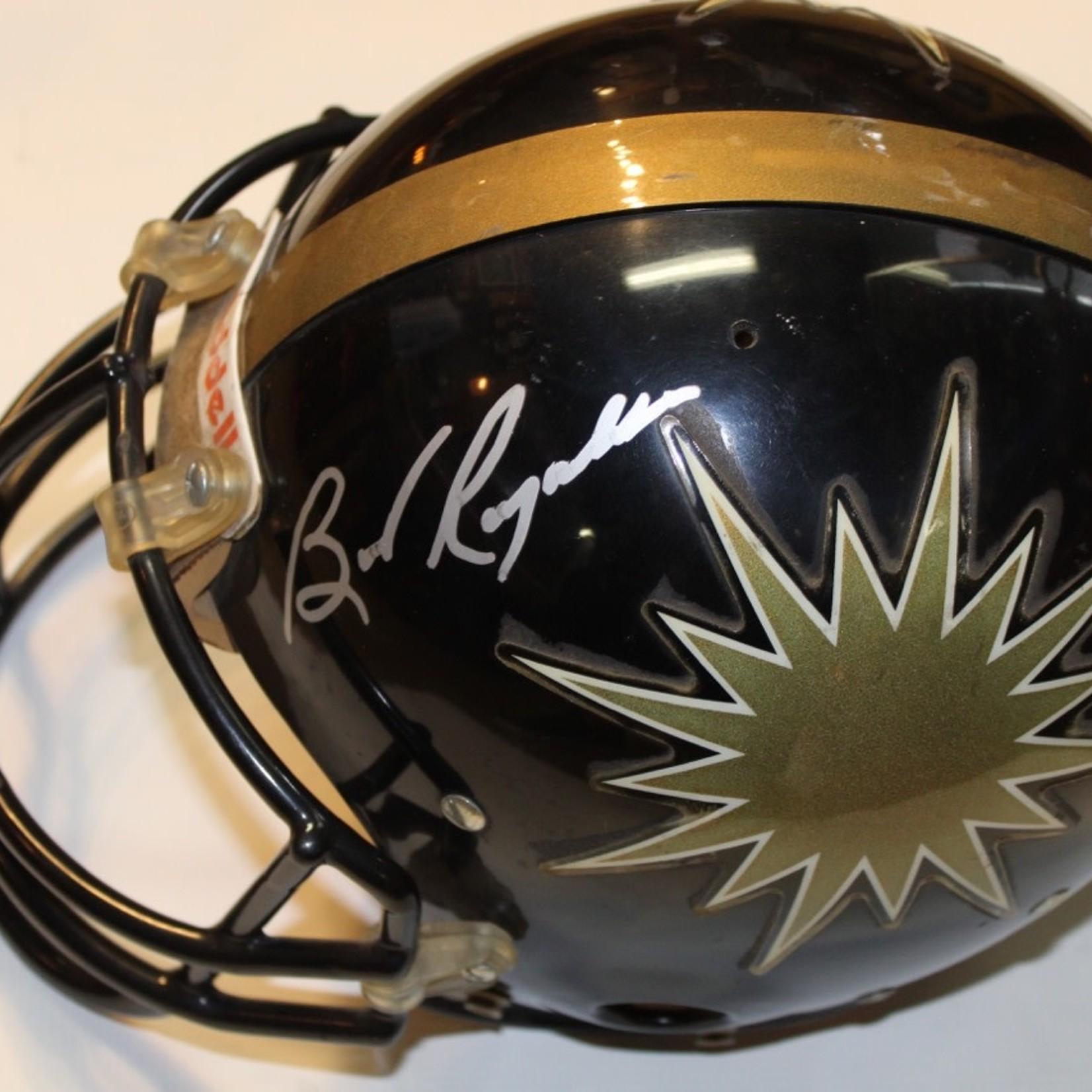 Midsouth Sports Acquisitions Burt Reynolds Signed USFL Helmet Game Worn