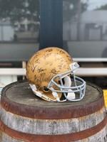 Midsouth Sports Acquisitions Notre Dame 2006 Team Signed Helmet