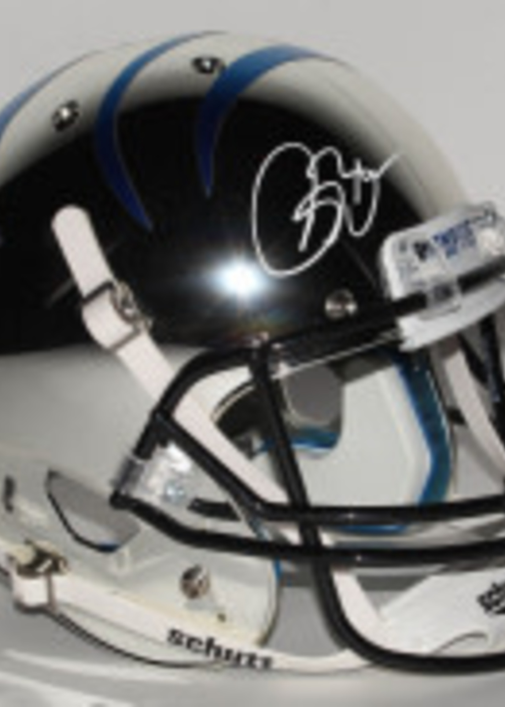 Pristine Auction Isaac Bruce Signed Chrome Memphis Tigers Full-Sized Helmet