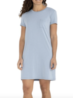 Free Fly Flex Pocket Dress Cays Blue