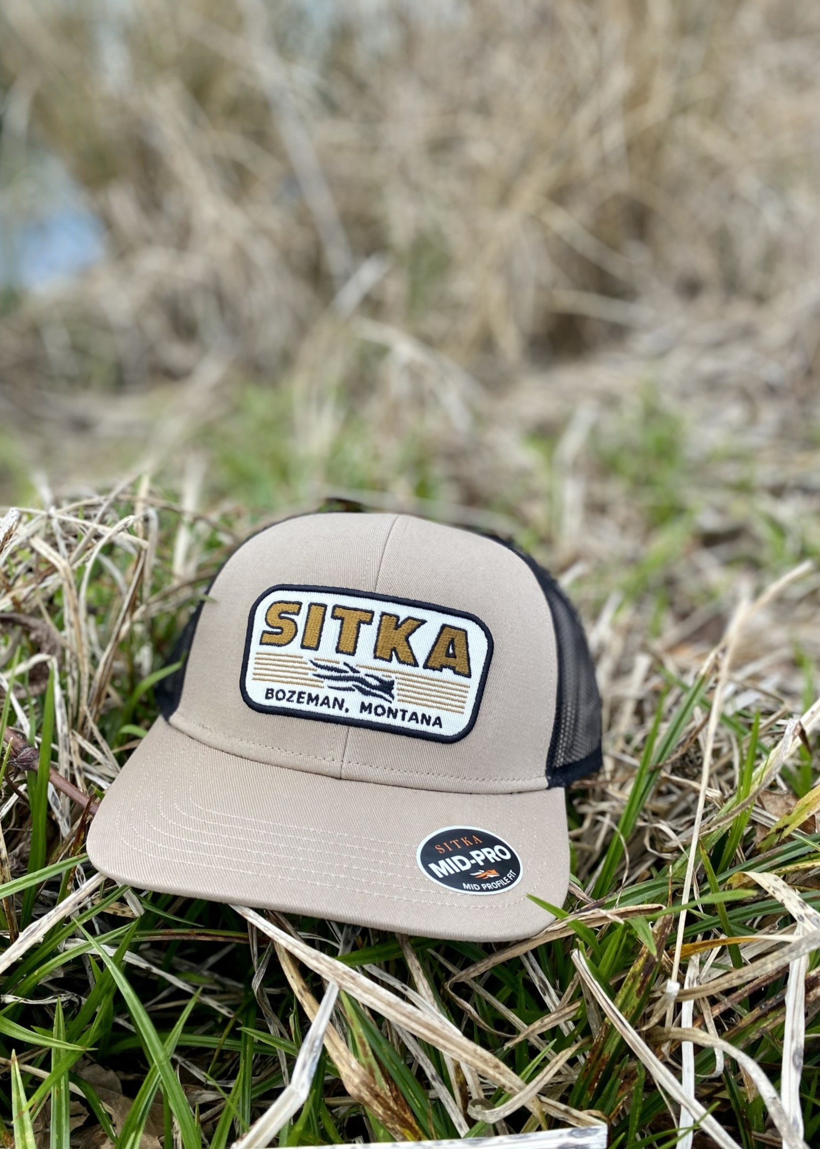 Sitka Gear Banded Mid Pro Trucker Sandstone