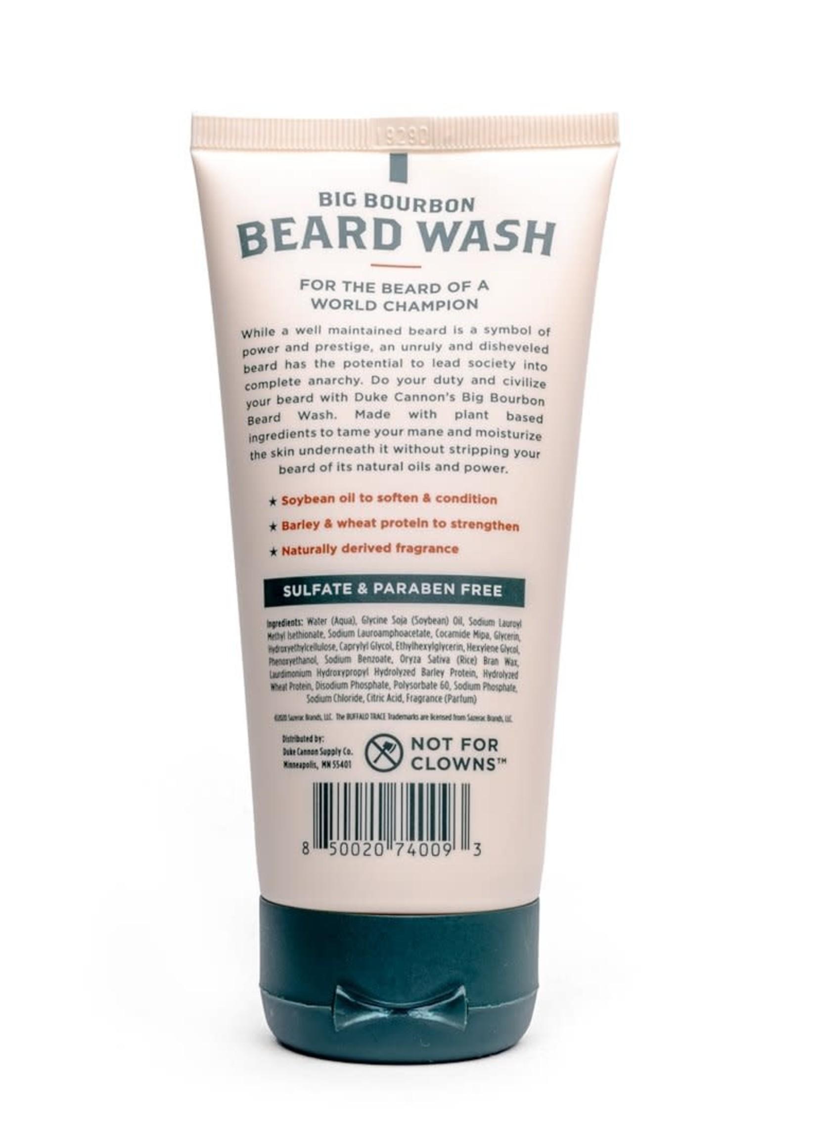 Duke Cannon Big Bourbon Beard Wash