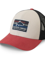 Fish Hippie Light Grey Rooted Trucker
