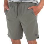 Free Fly Lined Swell Short Smoke Grey