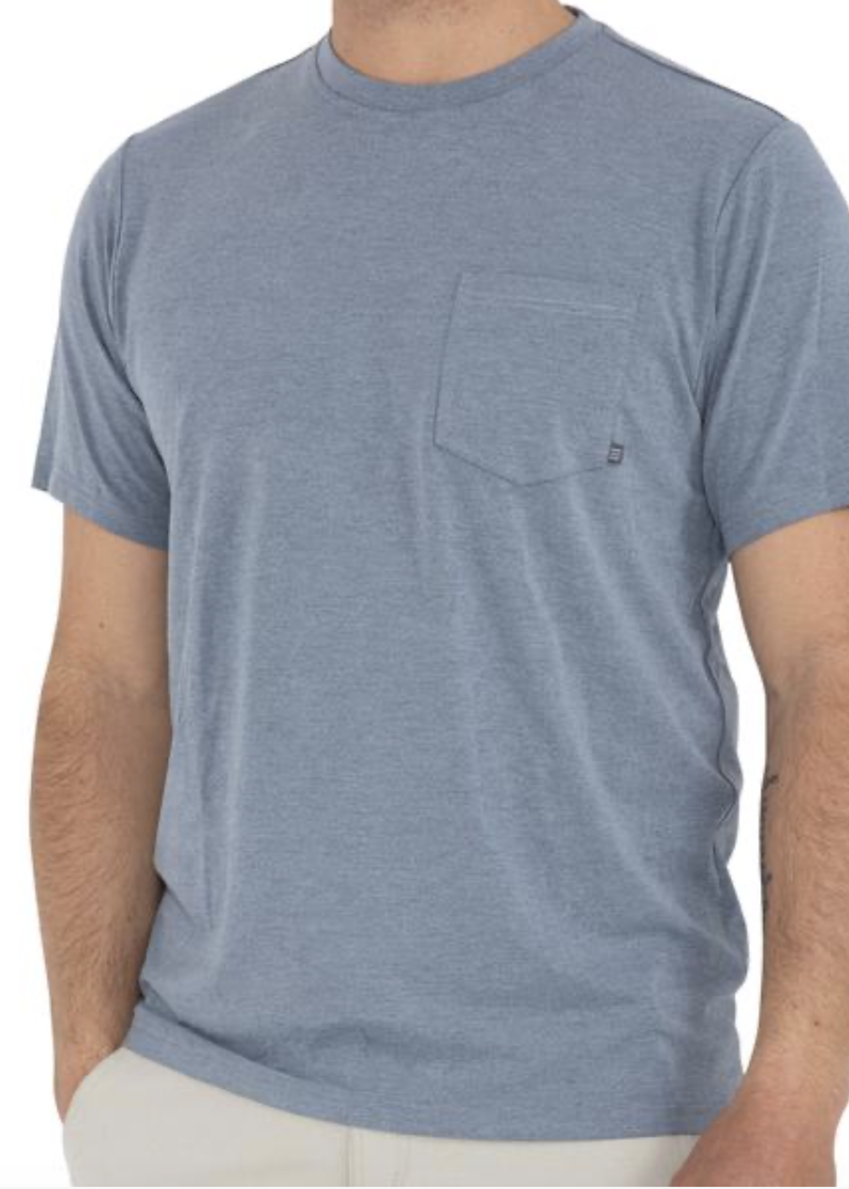 Free Fly Bamboo Flex Pocket Tee