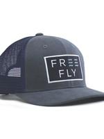 Free Fly Wave Snapback Washed Navy