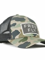 Free Fly Wave Snapback Camo