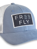 Free Fly Wave Snapback Blue Fog
