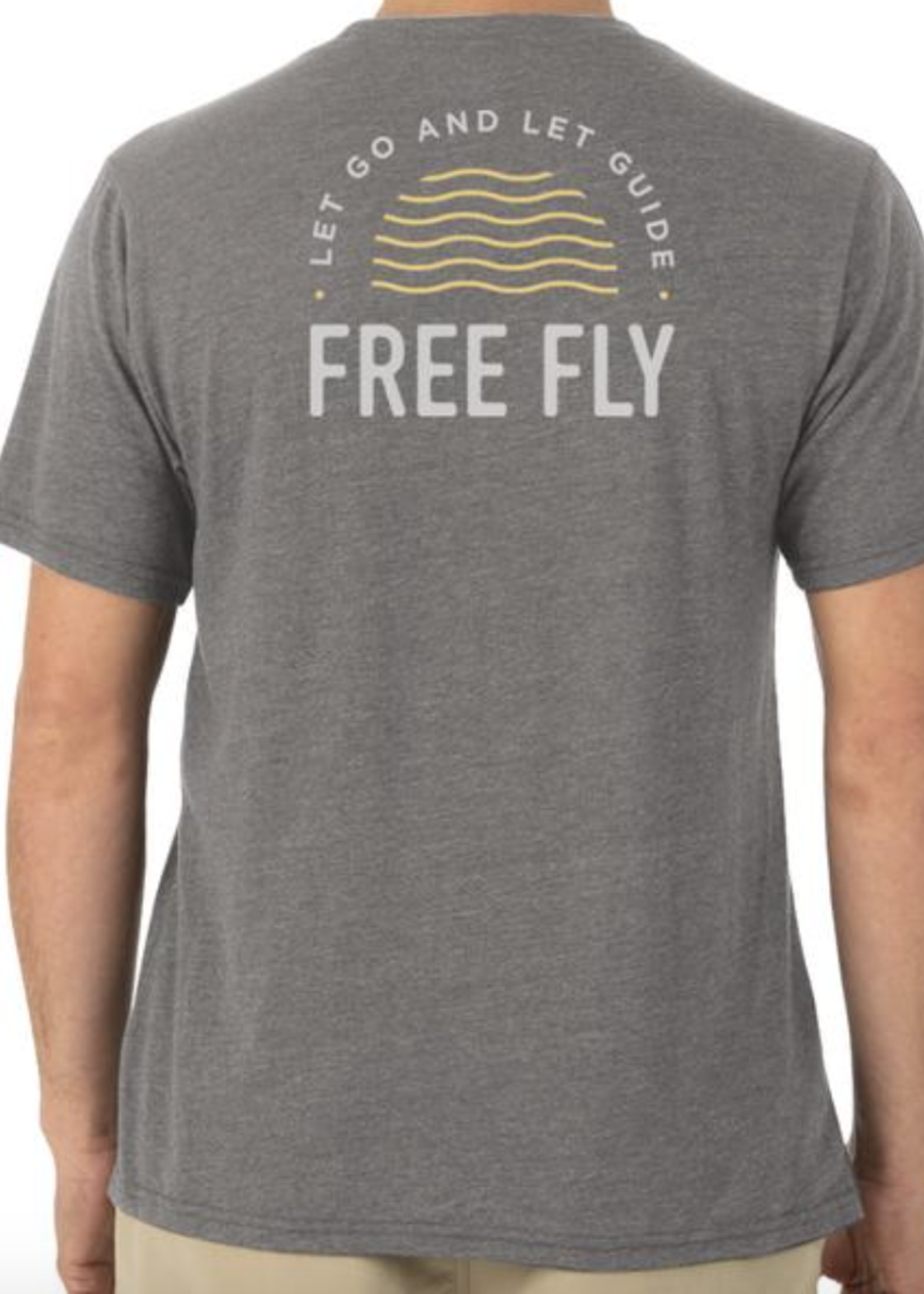 Free Fly Go & Guide Heather Steel Grey