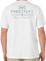Free Fly Islander Tee White