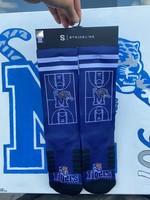 Strideline Memphis Tiger Court Socks