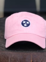 Volunteer Traditions Light Pink Tristar Hat