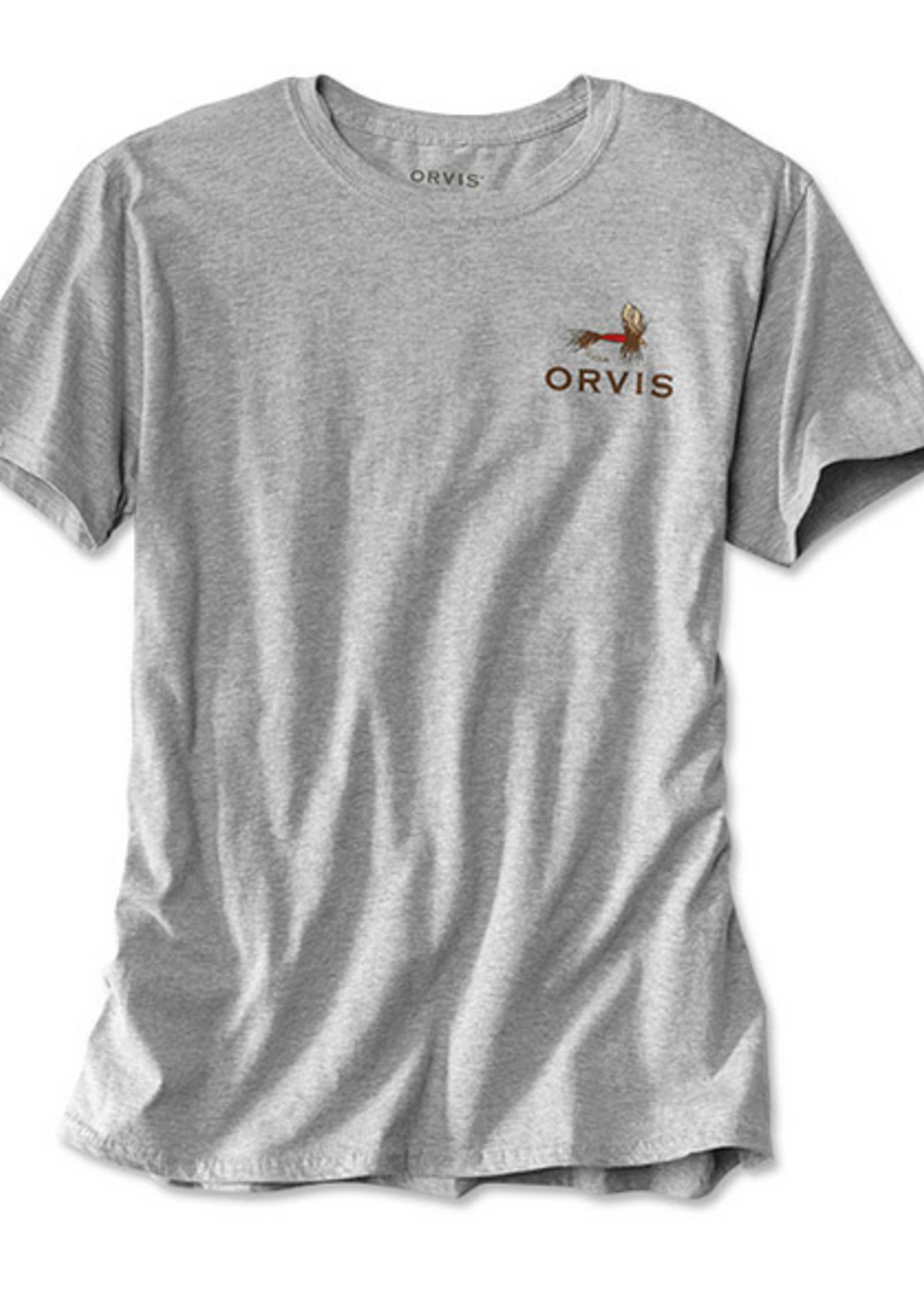 Orvis The Local Tee Heathered Grey