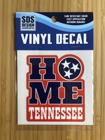"""SDS Design Tennessee Home Tristar 3"""" Decal"""