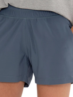 Free Fly W Pull-On Breeze Short Blue Dusk