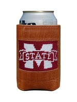Smathers & Branson Mississippi State Needlepoint Coozie
