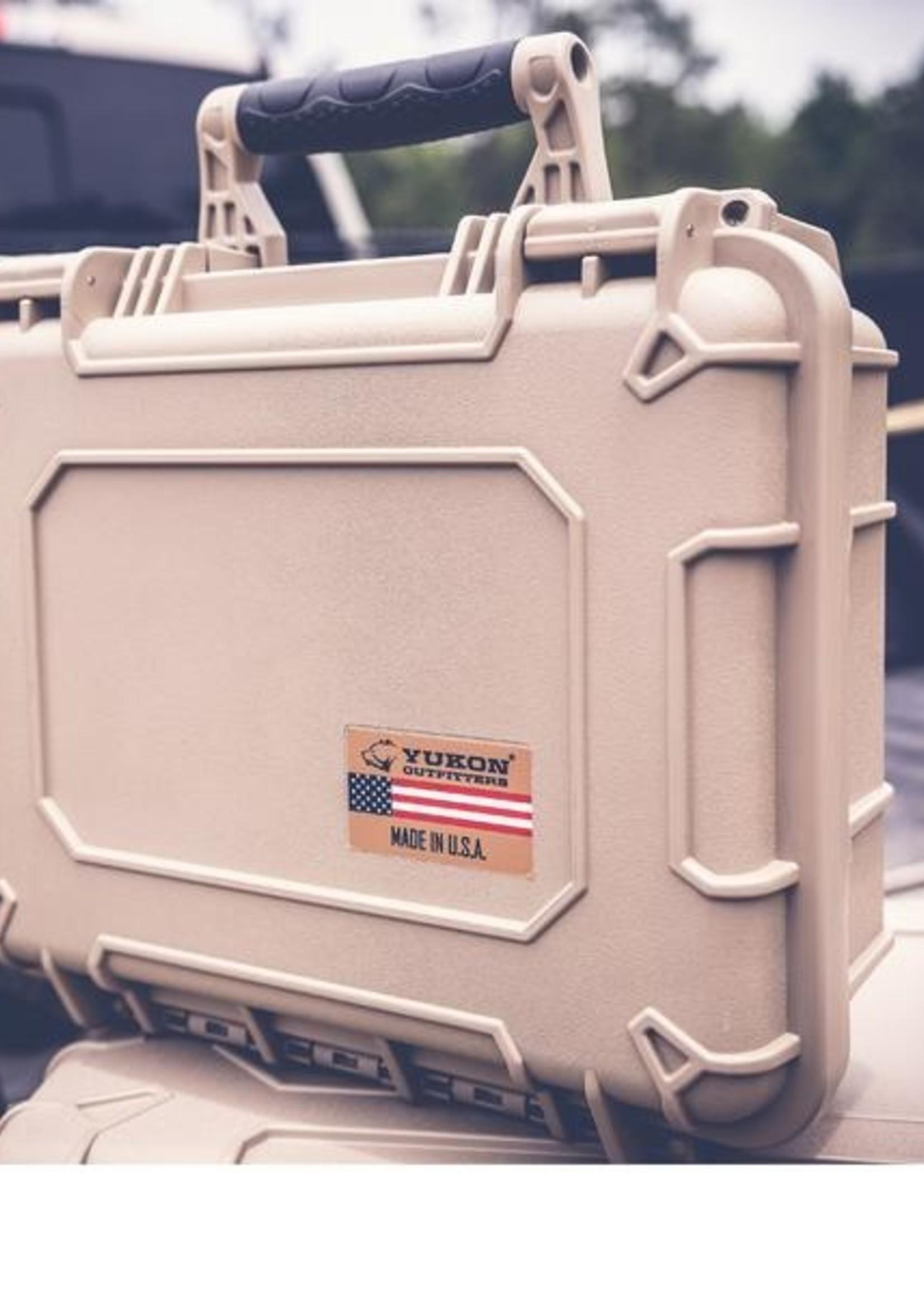 """Yukon Outfitters 14"""" Waterproof Hard Case"""