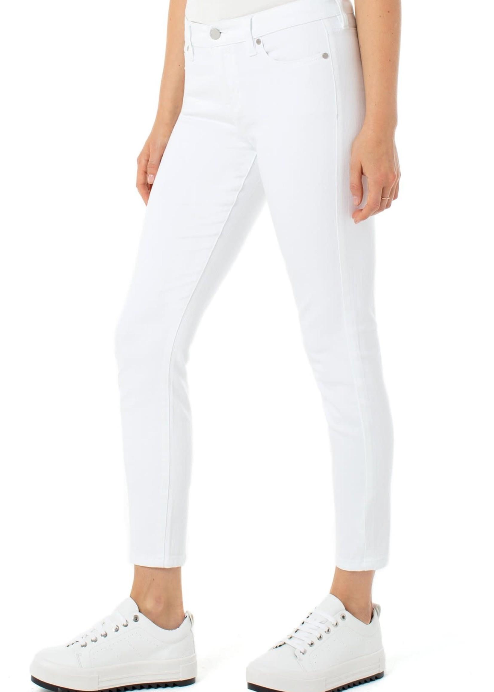 Liverpool Jeans Abby Hi-Rise Skinny White