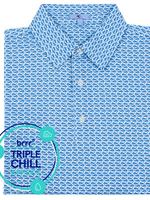 GenTeal Apparel Blue Trout Brrr Polo
