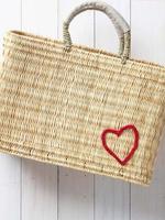 Mer-Sea Medina Heart Market Bag