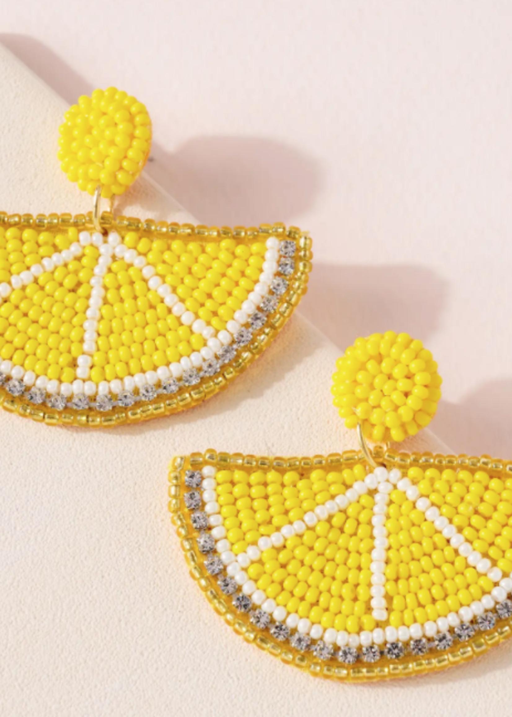 Avenue Zoe Citrus Earrings